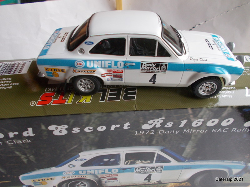 [BELKITS] FORD ESCORT RS 1600 Mk1 Rallye RAC 1972 Réf BEL007 Ford_e10