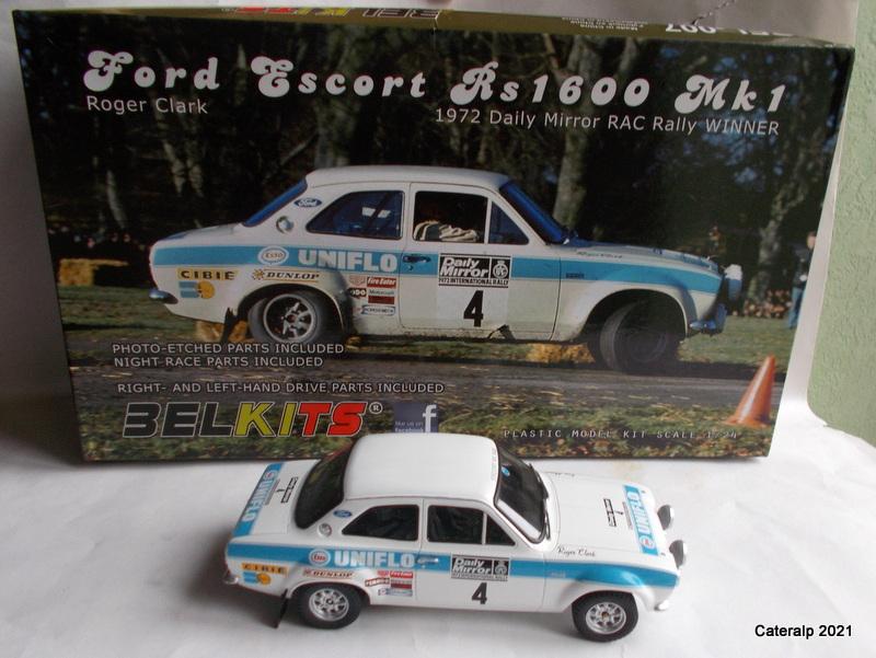 [BELKITS] FORD ESCORT RS 1600 Mk1 Rallye RAC 1972 Réf BEL007 Ford_e12