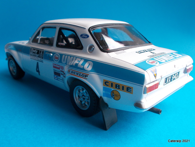 [BELKITS] FORD ESCORT RS 1600 Mk1 Rallye RAC 1972 Réf BEL007 Ford_e24