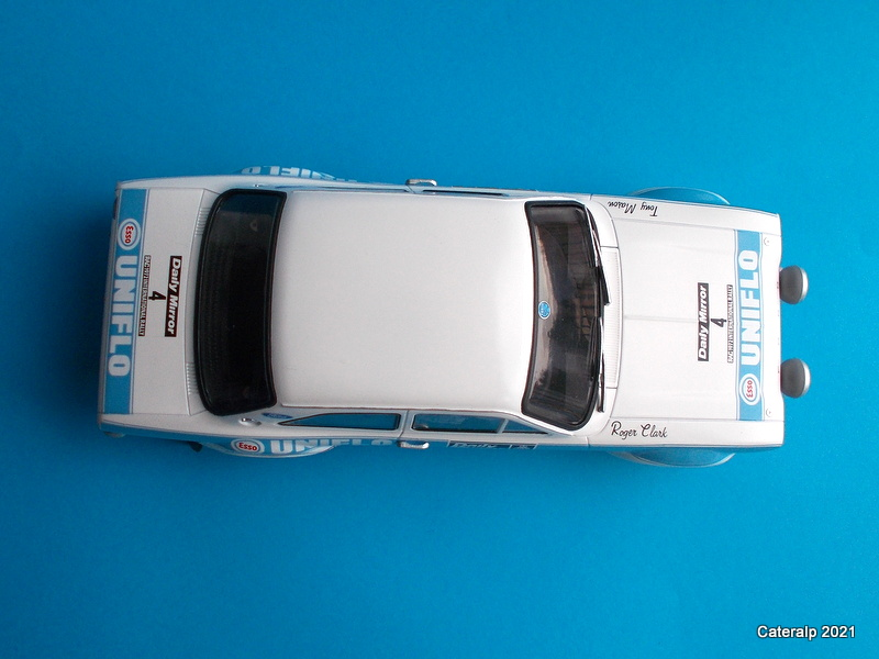 [BELKITS] FORD ESCORT RS 1600 Mk1 Rallye RAC 1972 Réf BEL007 Ford_e26