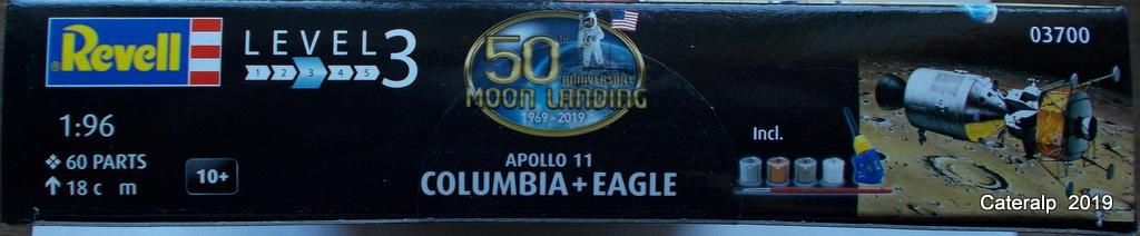 [REVELL] APOLLO 11 COLOMBIA + EAGLE 50ème anniversaire 1/96ème Réf 03700 Fuszoe47