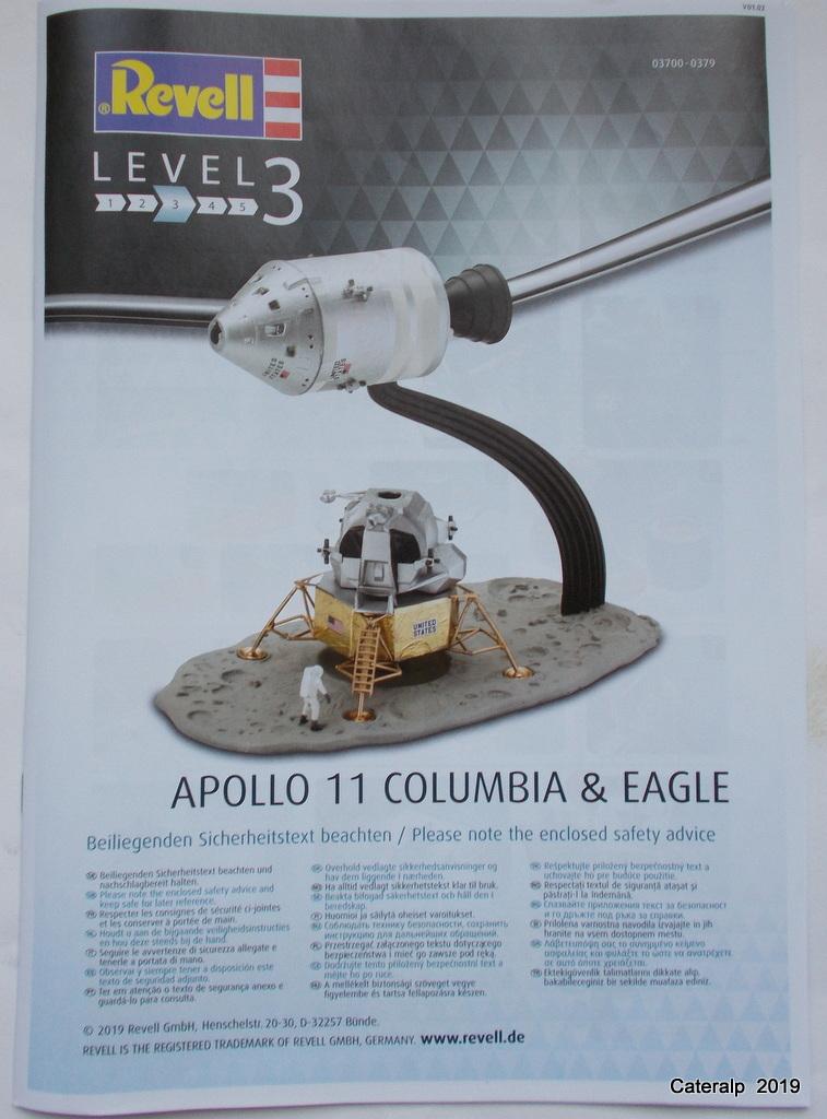 [REVELL] APOLLO 11 COLOMBIA + EAGLE 50ème anniversaire 1/96ème Réf 03700 Fuszoe50