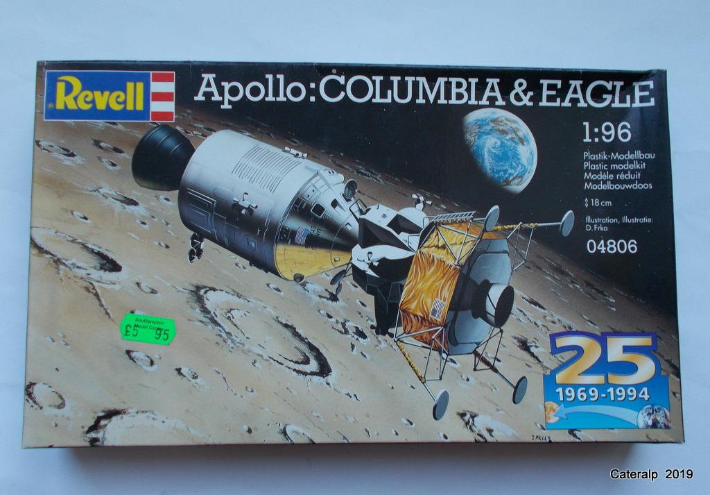 [REVELL] APOLLO 11 COLOMBIA + EAGLE 50ème anniversaire 1/96ème Réf 03700 Fuszoe66