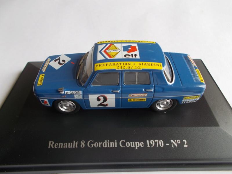 RENAULT R8 GORDINI 1/24ème Réf 80700  Gord_010