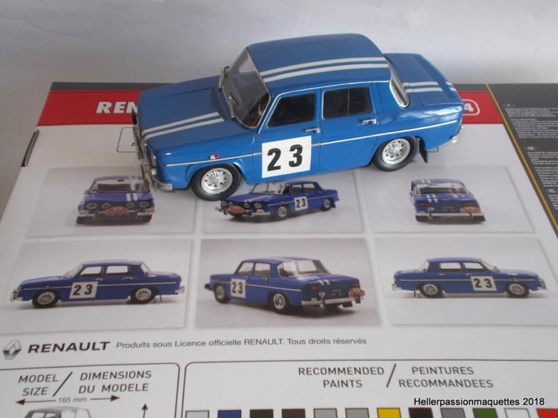Renault r8 Gordini 1/24e - ref 80700 Gordin12