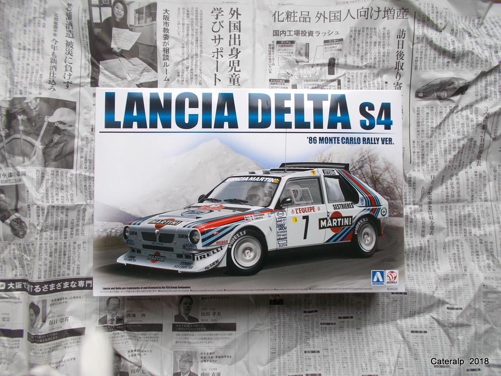 [Aoshima Beemax ] 1/24 Lancia Delta S4 Rallye de Monte Carlo 1986 Lancia48