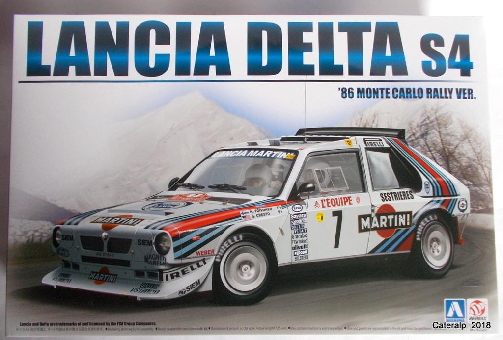 [Aoshima Beemax ] 1/24 Lancia Delta S4 Rallye de Monte Carlo 1986 Lancia49