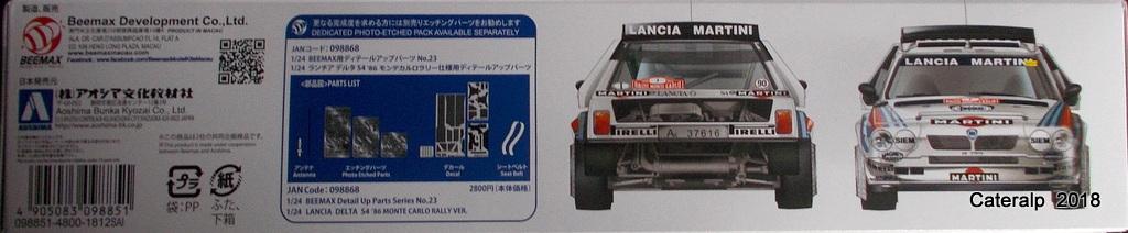 [Aoshima Beemax ] 1/24 Lancia Delta S4 Rallye de Monte Carlo 1986 Lancia50