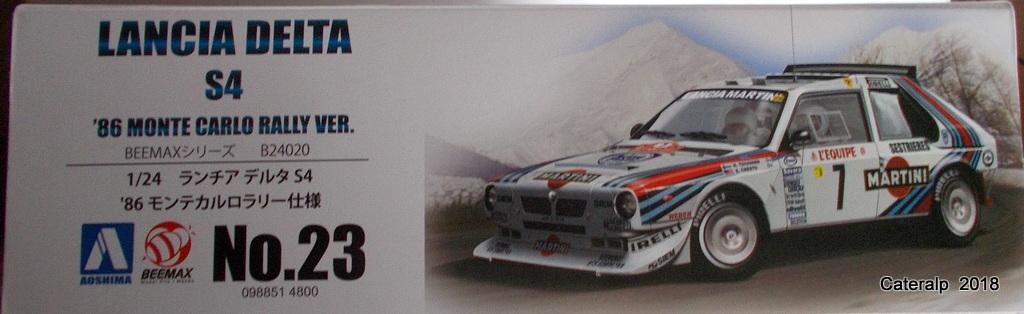 [Aoshima Beemax ] 1/24 Lancia Delta S4 Rallye de Monte Carlo 1986 Lancia51