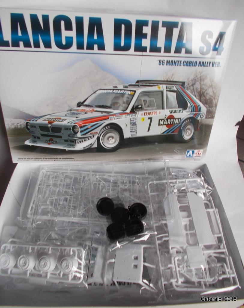 [Aoshima Beemax ] 1/24 Lancia Delta S4 Rallye de Monte Carlo 1986 Lancia53