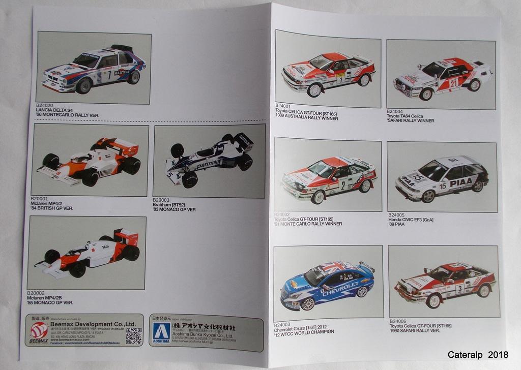 [Aoshima Beemax ] 1/24 Lancia Delta S4 Rallye de Monte Carlo 1986 Lancia73