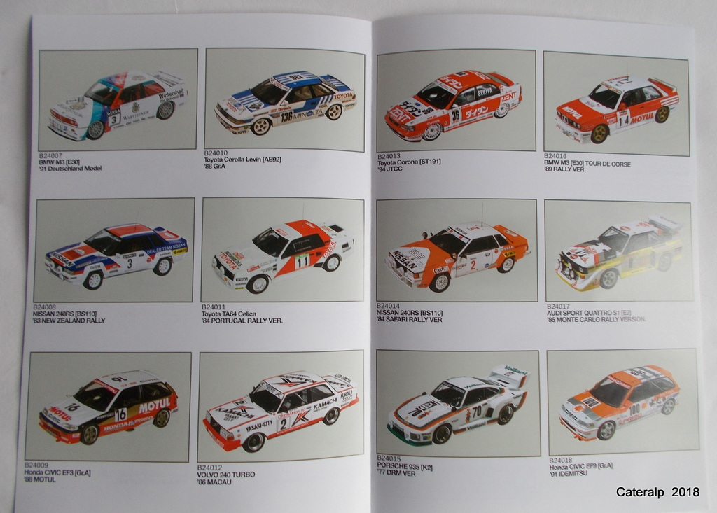 [Aoshima Beemax ] 1/24 Lancia Delta S4 Rallye de Monte Carlo 1986 Lancia75