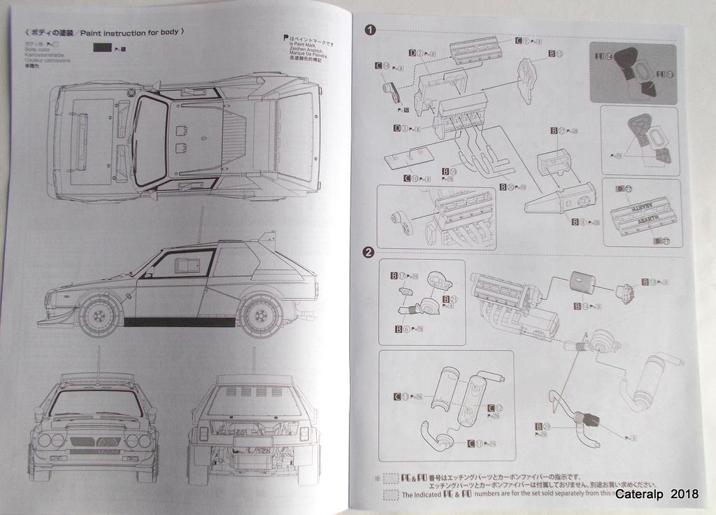 [Aoshima Beemax ] 1/24 Lancia Delta S4 Rallye de Monte Carlo 1986 Lancia79