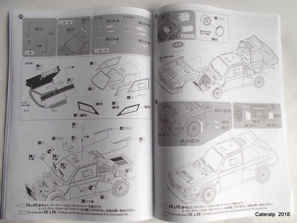 [Aoshima Beemax ] 1/24 Lancia Delta S4 Rallye de Monte Carlo 1986 Lancia86