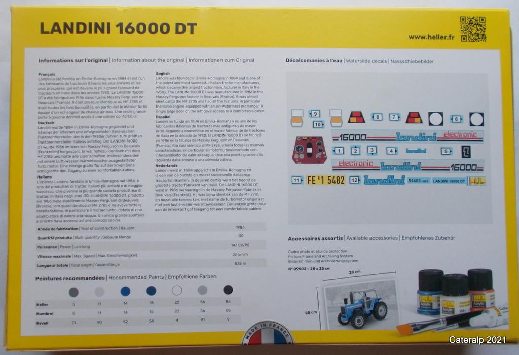 LANDINI 16000 DT ( tracteur) Landin12
