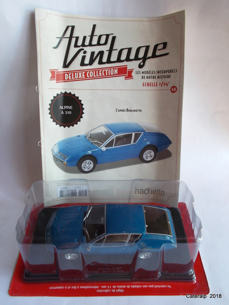Alpine A310 au 1/24 collection Auto Vintage  Matou_13