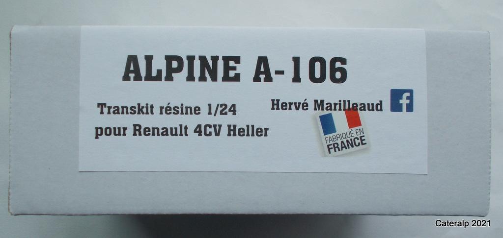 TRANSKIT Alpine A106 pour base HELLER Renault 4CV Matra_48