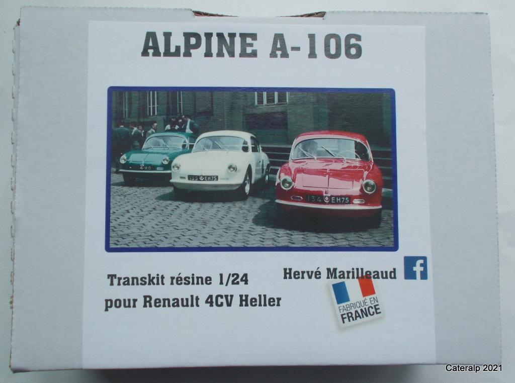 TRANSKIT Alpine A106 pour base HELLER Renault 4CV Matra_50