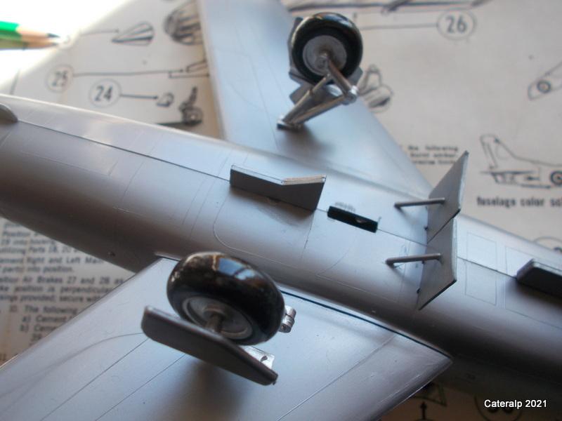 Montage chrono [HELLER BUZC0] FIAT G91 1/50ème Réf 304.250 Montag50