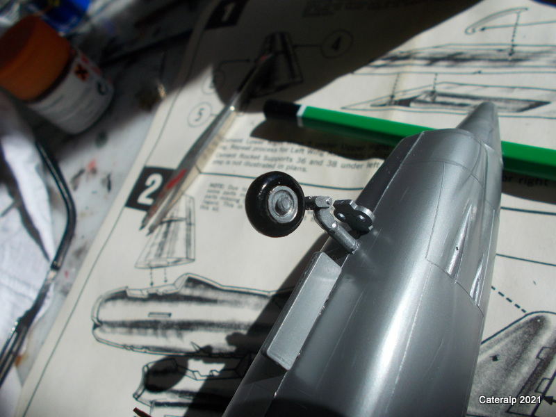 Montage chrono [HELLER BUZC0] FIAT G91 1/50ème Réf 304.250 Montag52