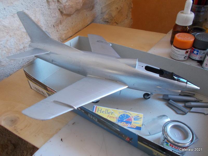 Montage chrono [HELLER BUZC0] FIAT G91 1/50ème Réf 304.250 Peintu45