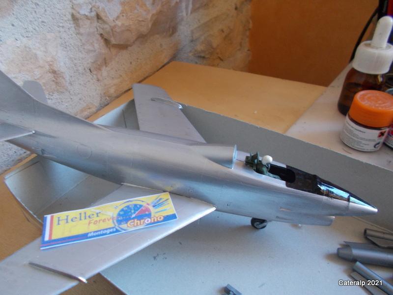 Montage chrono [HELLER BUZC0] FIAT G91 1/50ème Réf 304.250 Peintu47