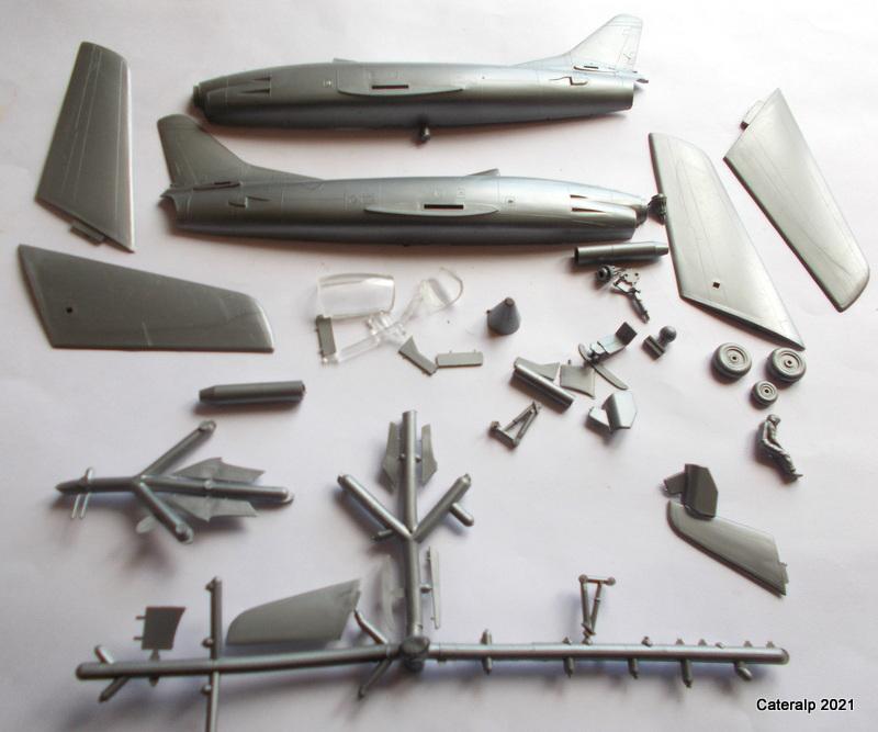 Montage chrono [HELLER BUZC0] FIAT G91 1/50ème Réf 304.250 Pizoce33