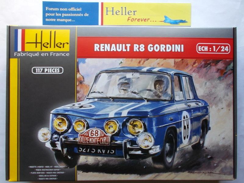 Renault r8 Gordini 1/24e - ref 80700 Przose49