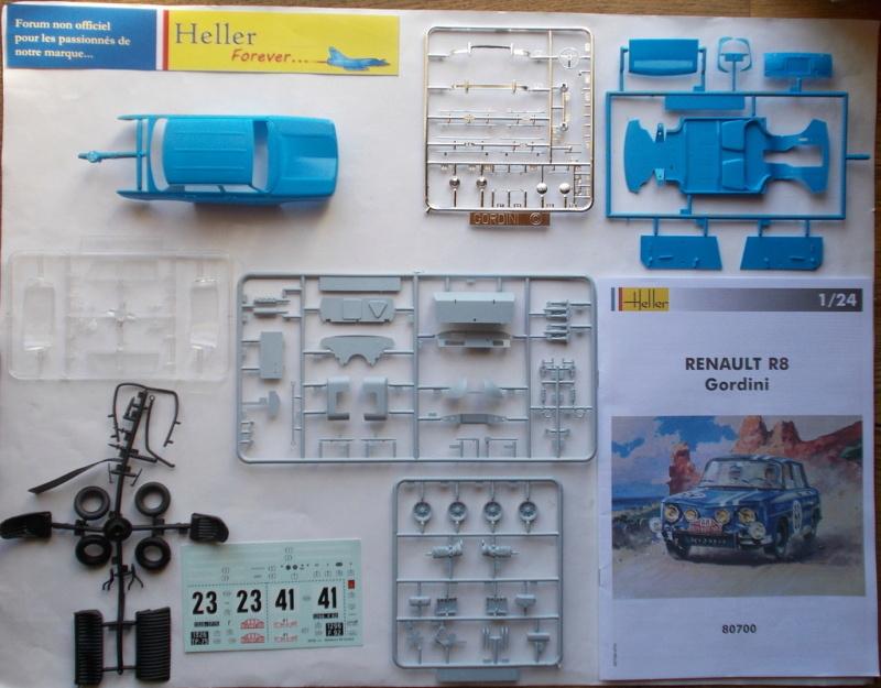 RENAULT R8 GORDINI 1/24ème Réf 80700  Przose51