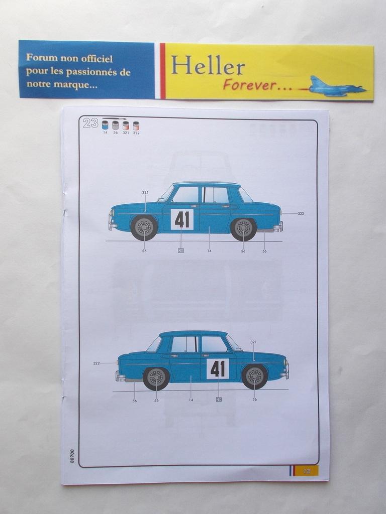 RENAULT R8 GORDINI 1/24ème Réf 80700  Przose71
