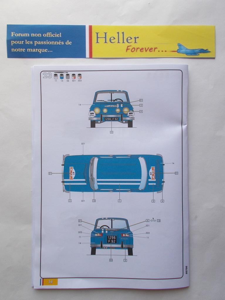 RENAULT R8 GORDINI 1/24ème Réf 80700  Przose72