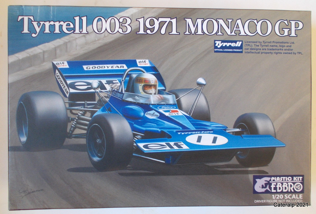Tyrrell 002 et 003 GP saison 1971 échelle 1/20 EBBRO Tyrrel53