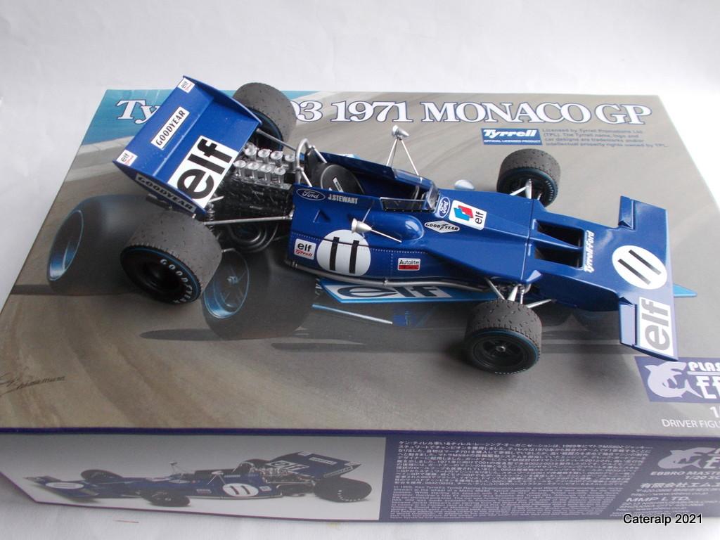 Tyrrell 002 et 003 GP saison 1971 échelle 1/20 EBBRO Tyrrel54