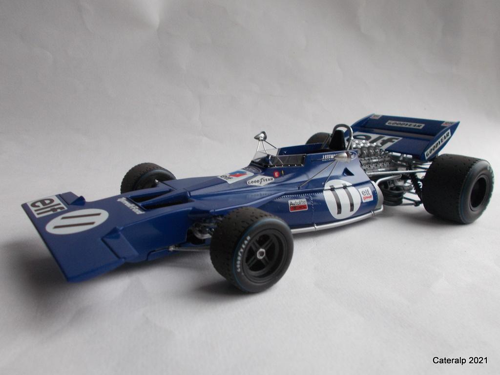 Tyrrell 002 et 003 GP saison 1971 échelle 1/20 EBBRO Tyrrel55