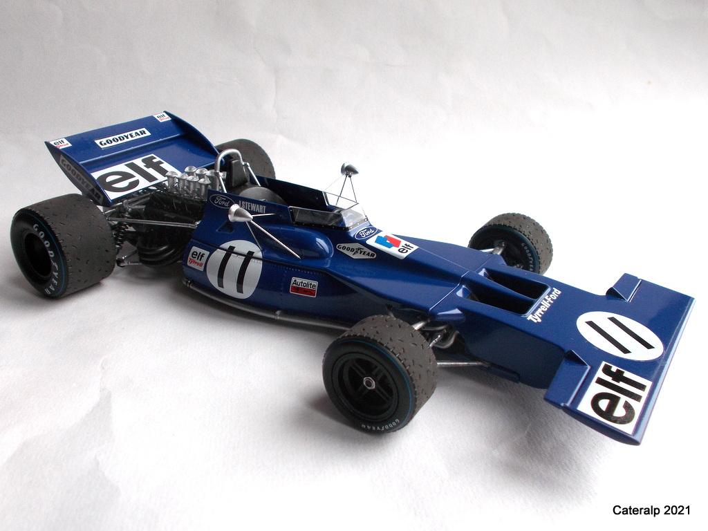 Tyrrell 002 et 003 GP saison 1971 échelle 1/20 EBBRO Tyrrel57