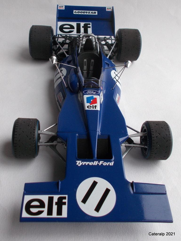Tyrrell 002 et 003 GP saison 1971 échelle 1/20 EBBRO Tyrrel58