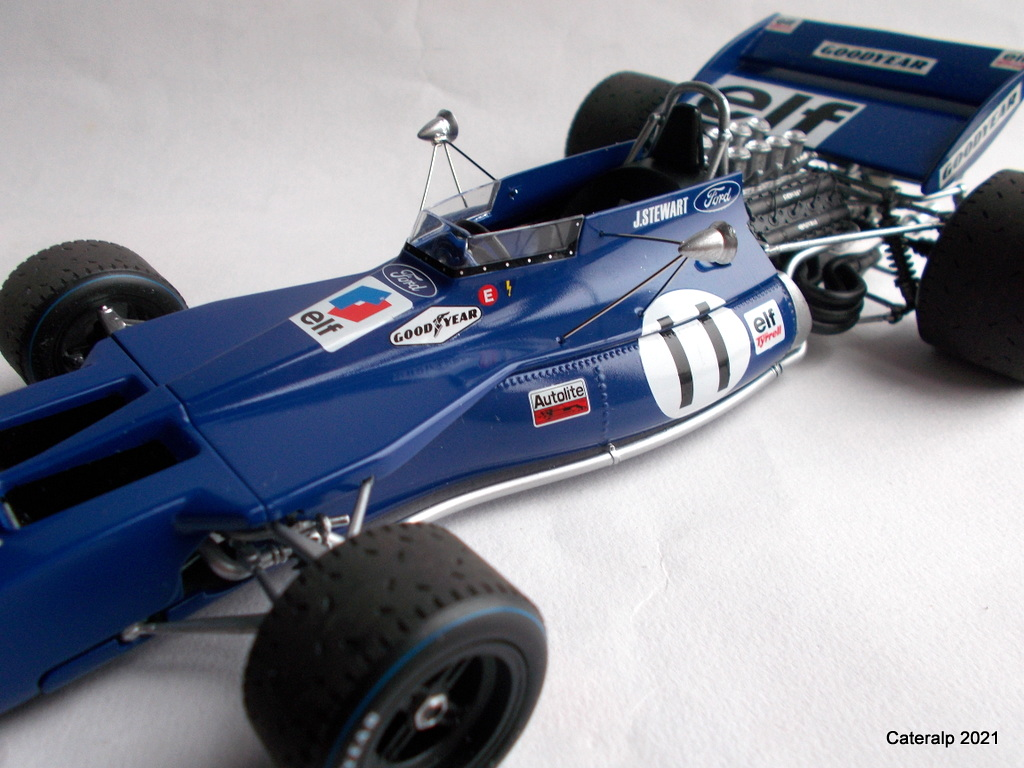 Tyrrell 002 et 003 GP saison 1971 échelle 1/20 EBBRO Tyrrel59