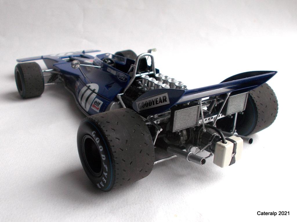 Tyrrell 002 et 003 GP saison 1971 échelle 1/20 EBBRO Tyrrel60