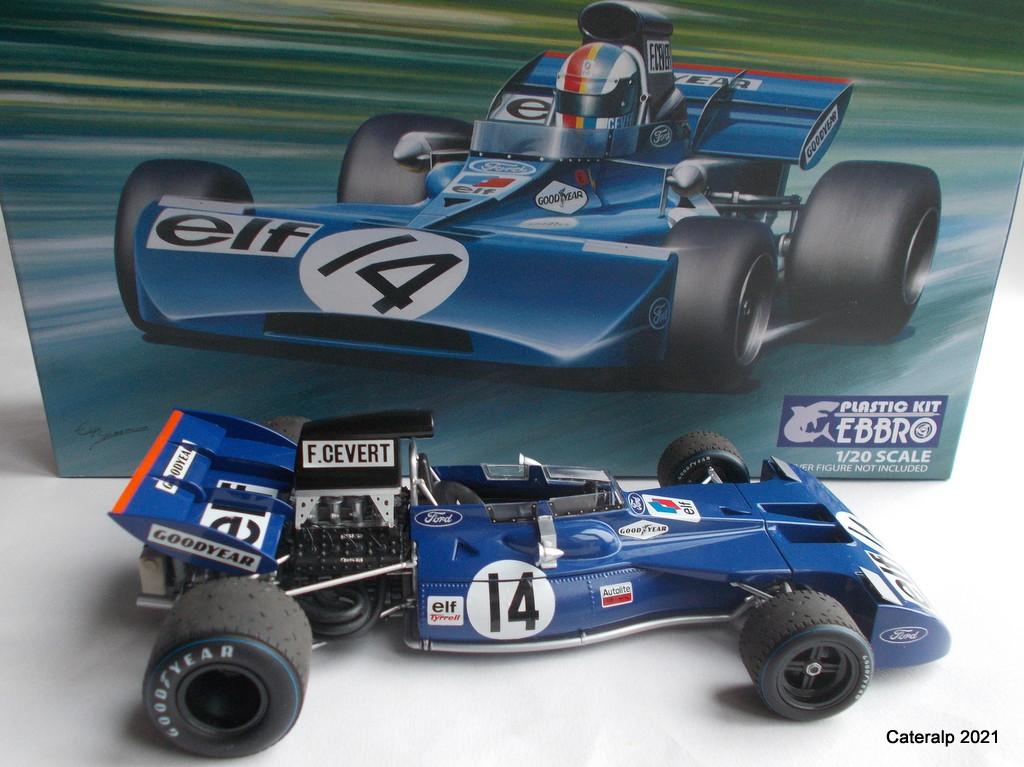 Tyrrell 002 et 003 GP saison 1971 échelle 1/20 EBBRO Tyrrel61