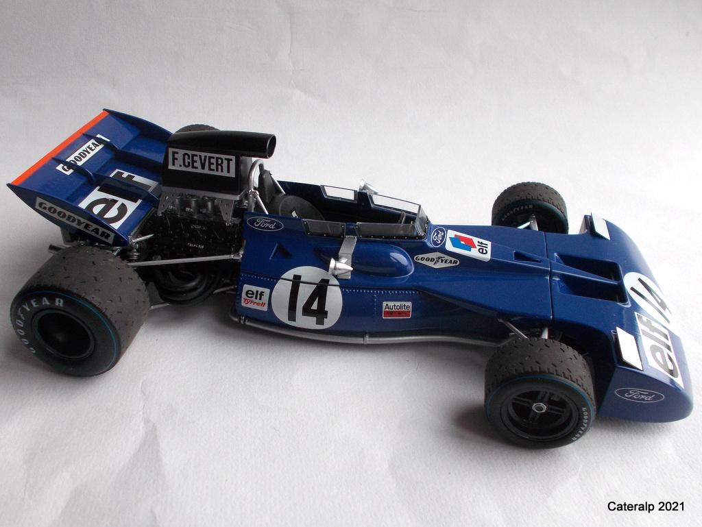 Tyrrell 002 et 003 GP saison 1971 échelle 1/20 EBBRO Tyrrel63
