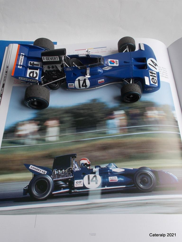 Tyrrell 002 et 003 GP saison 1971 échelle 1/20 EBBRO Tyrrel70