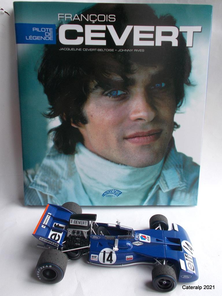 Tyrrell 002 et 003 GP saison 1971 échelle 1/20 EBBRO Tyrrel71