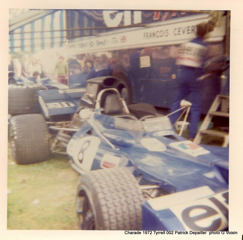 Tyrrell 002 et 003 GP saison 1971 échelle 1/20 EBBRO Tyrrel80