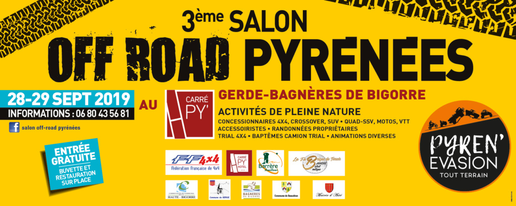 3 eme Salon Off Road PYRENEES 28 & 29 septembre 2019 Bandea10