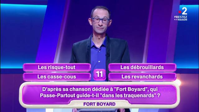 [Unique] Extraits et mentions de Fort Boyard dans d'autres émissions - Page 39 Vlcsna13