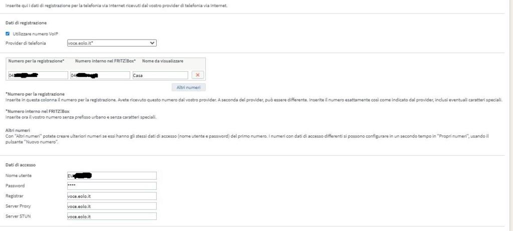 Fritz!Box 7430 configurazione VOIP per EOLO - Pagina 4 Fritz110
