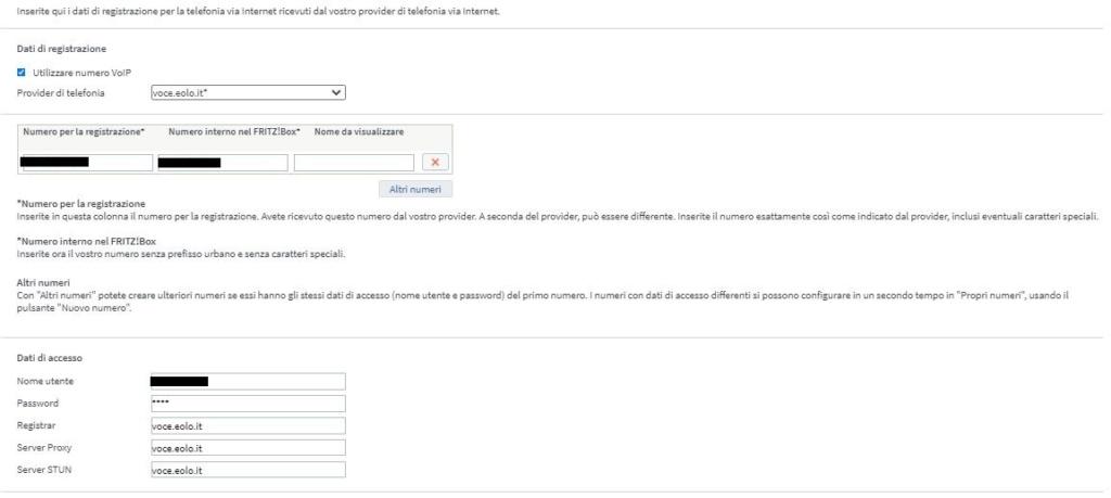 Fritz!Box 7430 configurazione VOIP per EOLO - Pagina 4 Fritz112