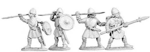 Tenues et campements saxons/normands du haut moyen- Age au XIIIème siècle Da102911