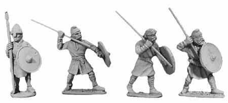 Tenues et campements saxons/normands du haut moyen- Age au XIIIème siècle Da106610