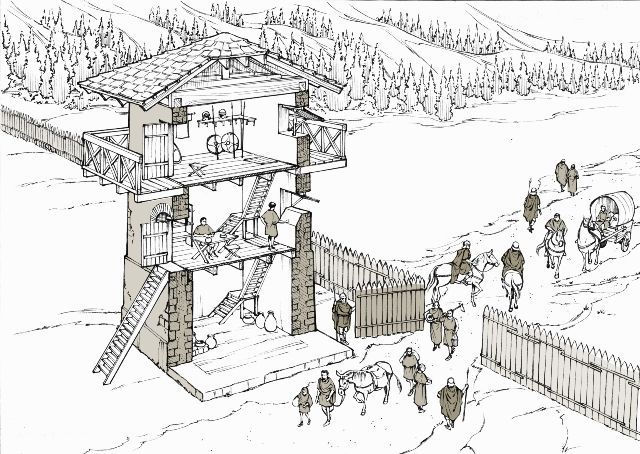 Tour de guet romaine E107ee10